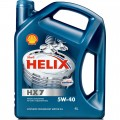 Масло моторное Shell Helix HX 7 5w40 4л